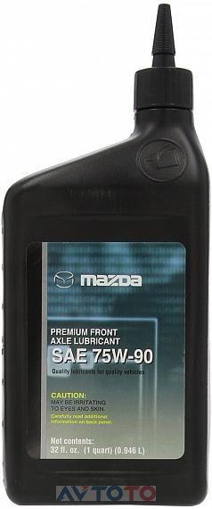 Трансмиссионное масло Mazda 0000775W90QT