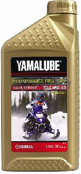 Моторное масло Yamaha LUB00W40FS12