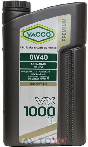 Моторное масло Yacco 306224