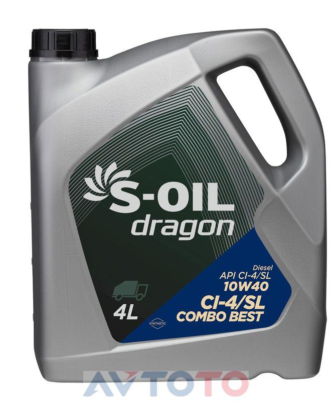 Моторное масло S-Oil DTCB10W4004