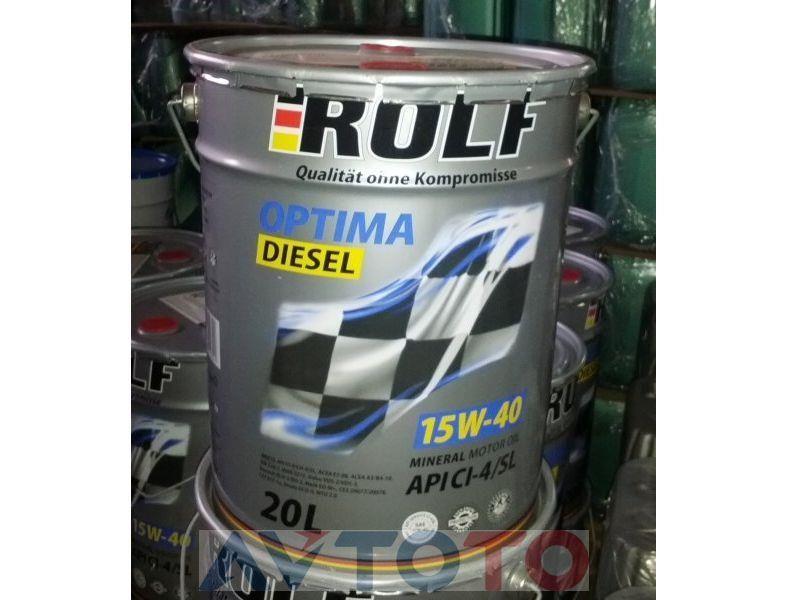 Моторное масло Rolf 322249