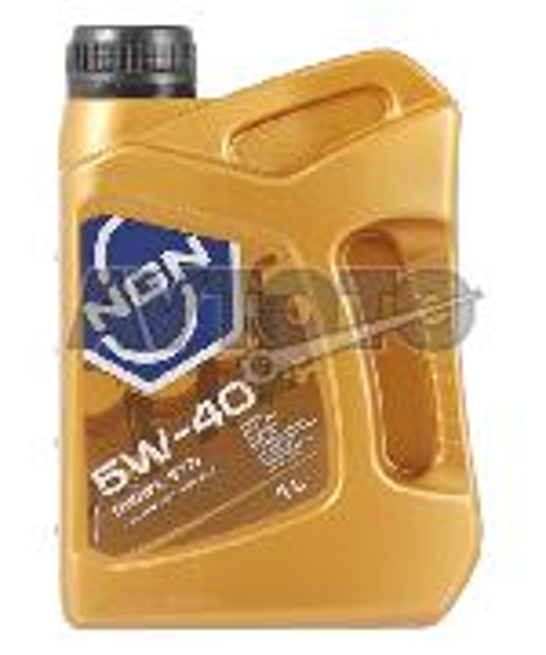 Моторное масло NGN Oil 5W40CFSMDIESELSYN1L