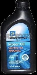 Моторное масло General Motors 12345616