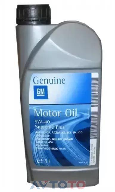 Моторное масло General Motors 1942064