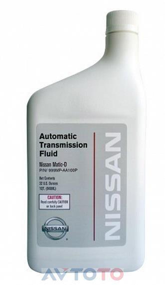 Трансмиссионное масло Nissan 999MPAA100P