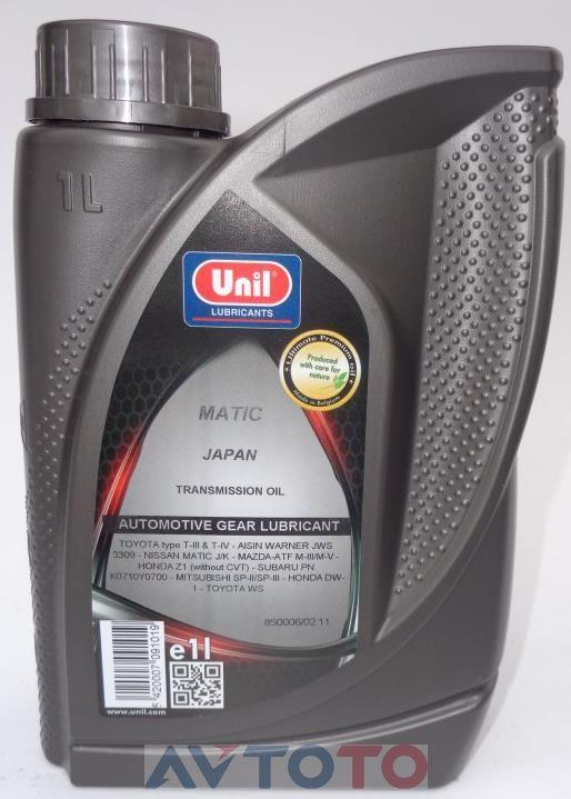 Трансмиссионное масло Unil 5420007091019
