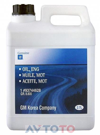 Моторное масло General Motors 93744628