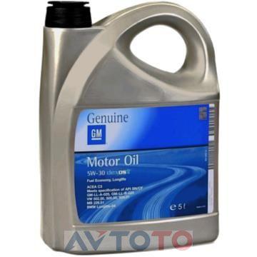 Моторное масло General Motors 93165557