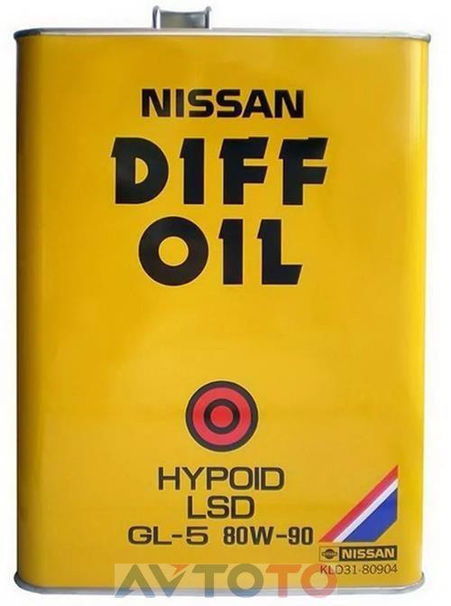 Трансмиссионное масло Nissan KLD3180904