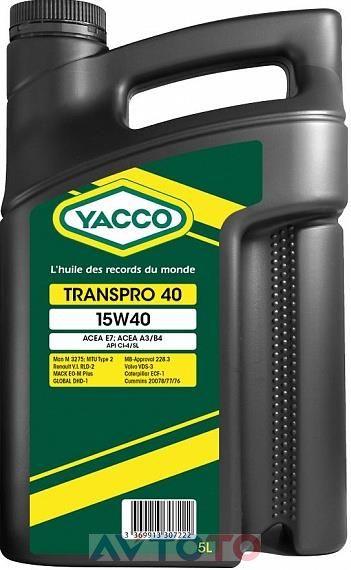 Моторное масло Yacco 330722