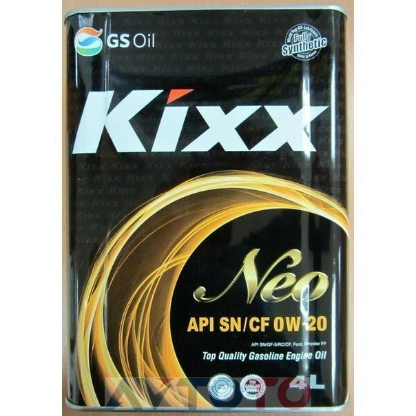Моторное масло KIXX L205544TE1