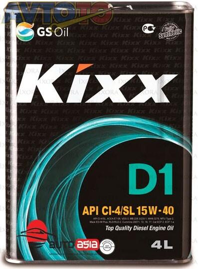 Моторное масло KIXX L206144TE1