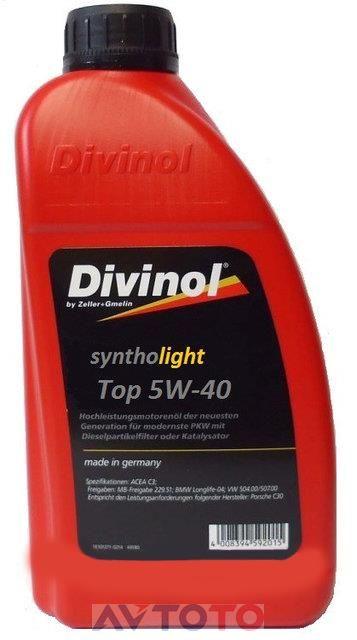 Моторное масло Divinol 49430C069