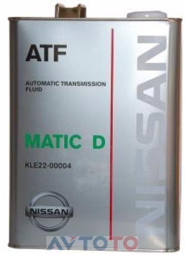Трансмиссионное масло Nissan KLE2200004