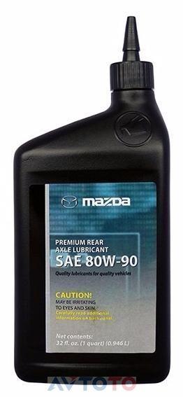 Трансмиссионное масло Mazda 00007780W9QT