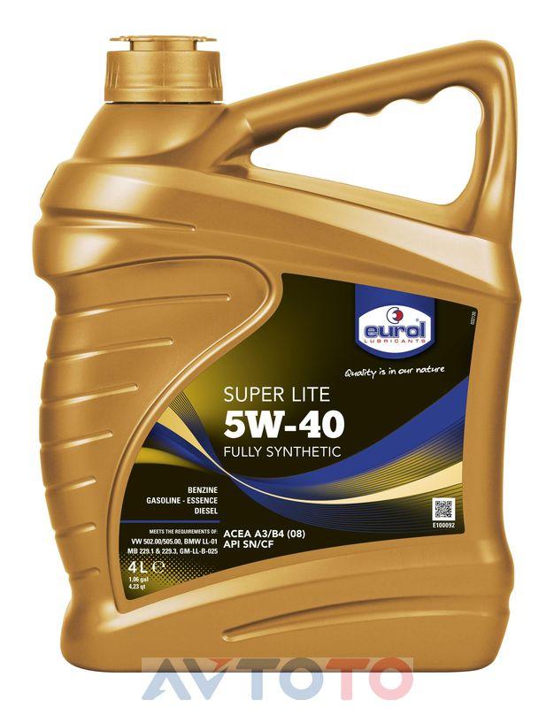 Моторное масло Eurol E1000924L
