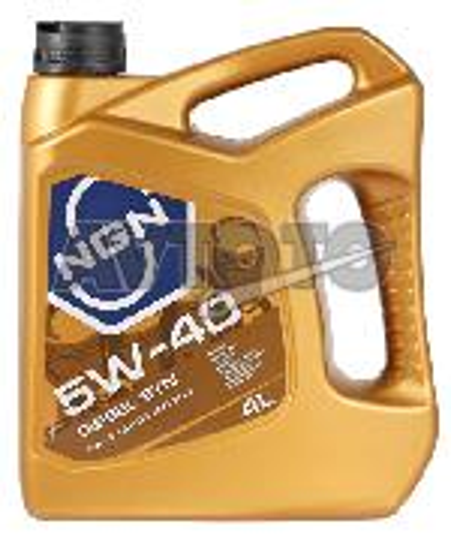 Моторное масло NGN Oil 5W40CFSMDIESELSYN4L
