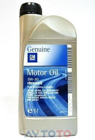 Моторное масло General Motors 12345885