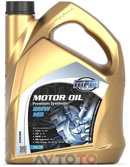 Моторное масло MPM Oil 05005BM