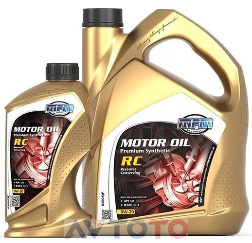 Моторное масло MPM Oil 05001JP