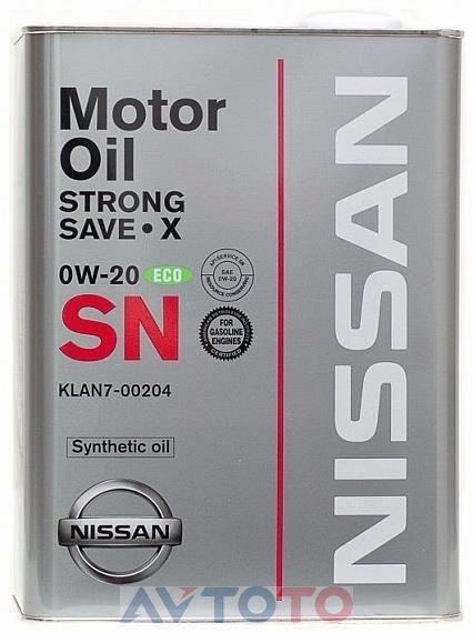 Моторное масло Nissan KLAN700204