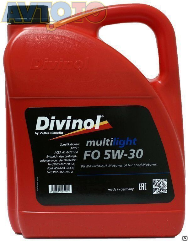 Моторное масло Divinol 49200K004