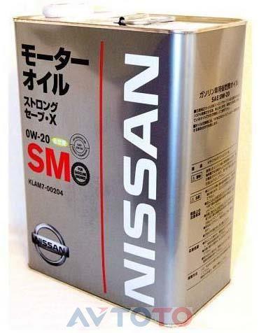 Моторное масло Nissan KLAM700204