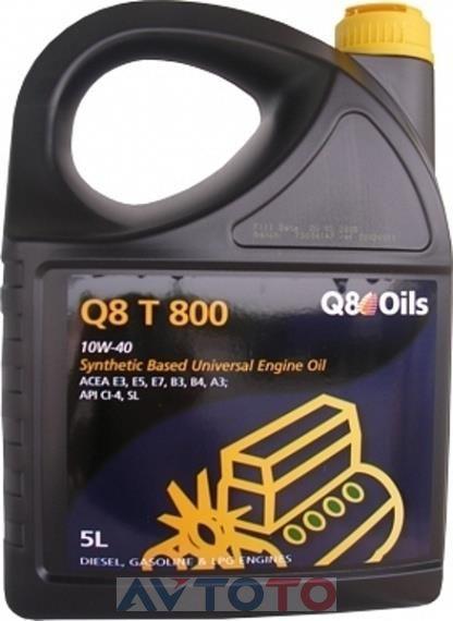 Моторное масло Q8 101140401616