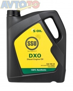 Моторное масло S-Oil DSSU10W40DXO04