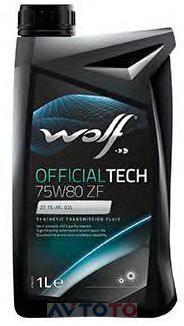 Трансмиссионное масло Wolf oil 8325601