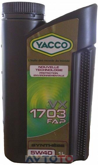 Моторное масло Yacco 301925