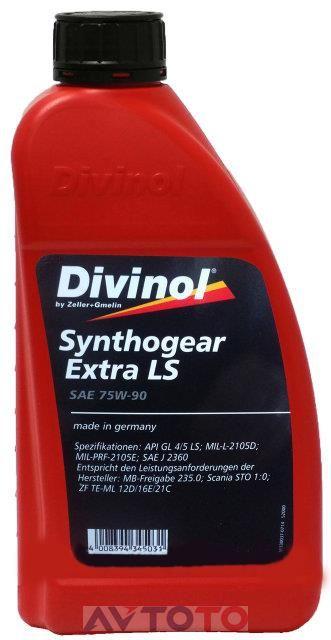 Трансмиссионное масло Divinol 52000C069