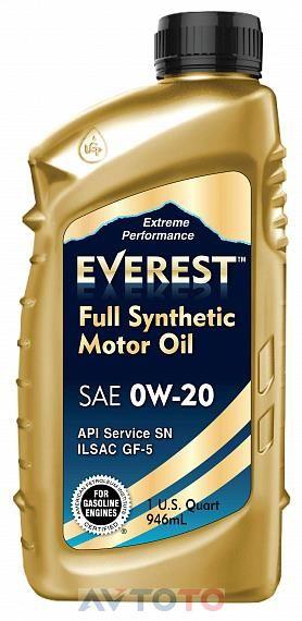 Моторное масло EVEREST FP02000EV01LFS