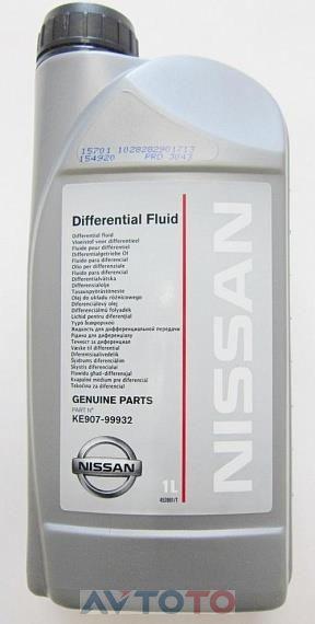 Трансмиссионное масло Nissan KE90799932