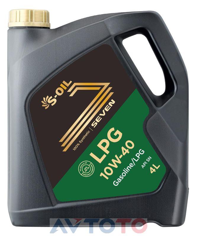 Моторное масло S-Oil LPG10W4004