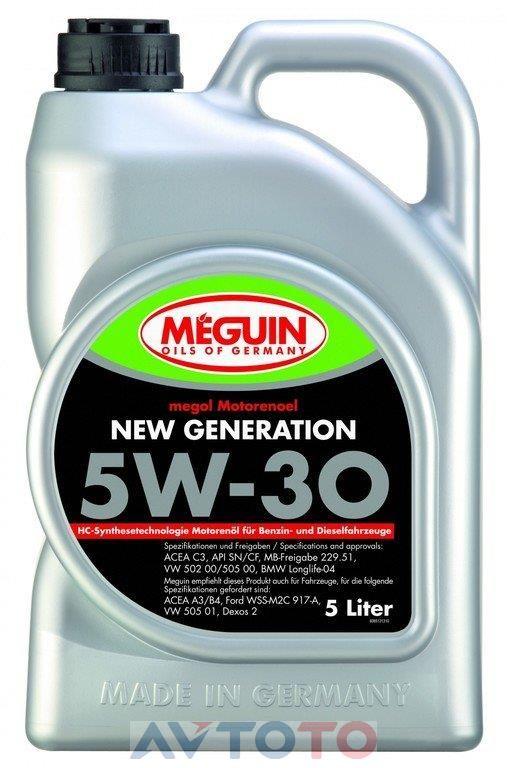 Моторное масло Meguin 6513