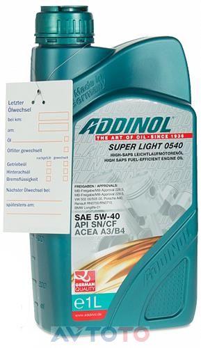 Моторное масло Addinol 4014766072719
