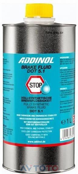 Тормозная жидкость Addinol 4014766073051