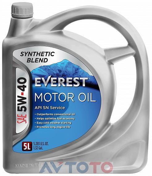Моторное масло EVEREST FP54000EV05LSB