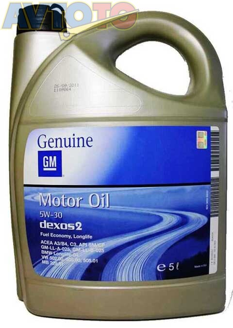 Моторное масло General Motors 1942003