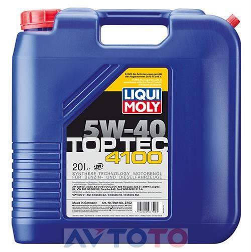 Моторное масло Liqui Moly 3702