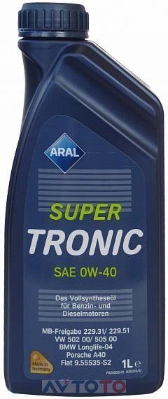 Моторное масло Aral 20458