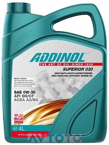 Моторное масло Addinol 4014766250971