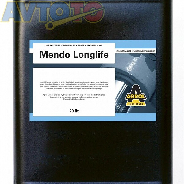 Гидравлическое масло AGROL 781320