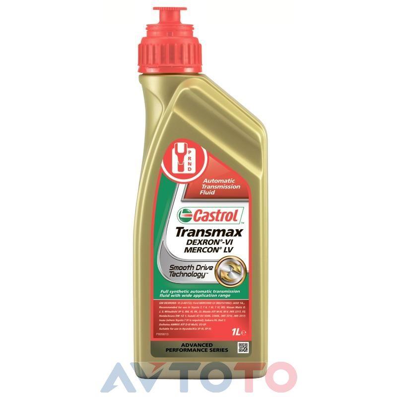 Трансмиссионное масло Castrol 156CAA