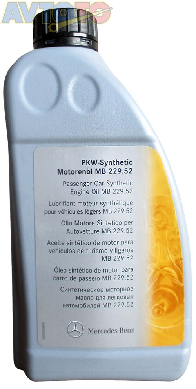 Моторное масло Mercedes Benz A0019893701AAA6
