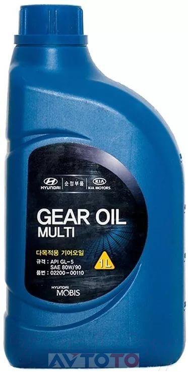 Трансмиссионное масло Hyundai/Kia 0220000110