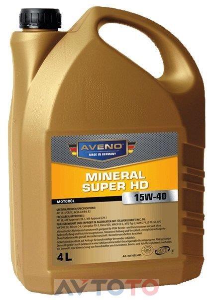 Моторное масло Aveno 3011002004