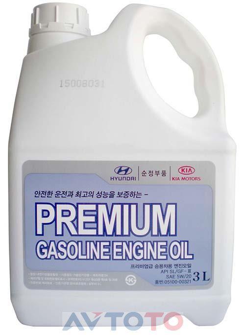 Моторное масло Hyundai/Kia 0510000321