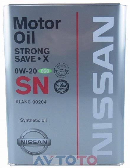 Моторное масло Nissan KLAN000204